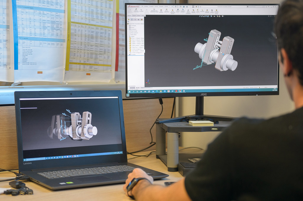 molle per l'industria - simulazione 3D